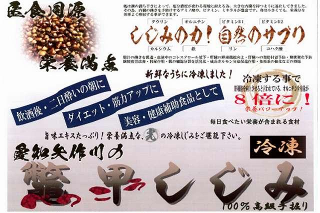愛知矢作川の鼈甲しじみ ポスター.jpg