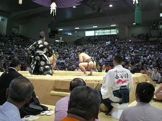 本場所 愛知県体育館 1