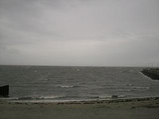 吉田港から見た風景