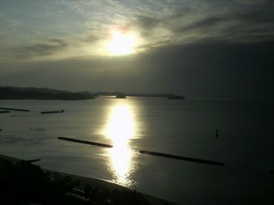 吉良町から見た西浦方面