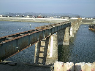 名鉄三河線 鉄橋2